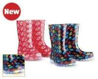 boys and girls light up wellies aldi £6.99