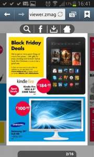 24' Samsung tv £100 netto black friday