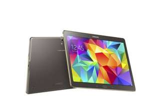 Samsung Galaxy Tab S £299.99 & £50 Cashback from Samsung  @ Currys