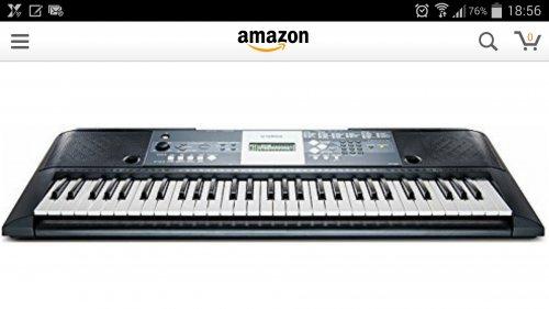 Yamaha YPT-230 keyboard £79.99 @ Lidl