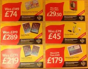 Tesco instore Black Friday deals