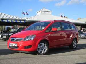 WJ King Vauxhall Zafira Capital 1.7 CDTI + loads of extras and lifetime warranty £12224