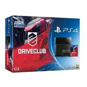 PS4 500GB (black) + DriveClub bundle for £299 @ ASDA direct