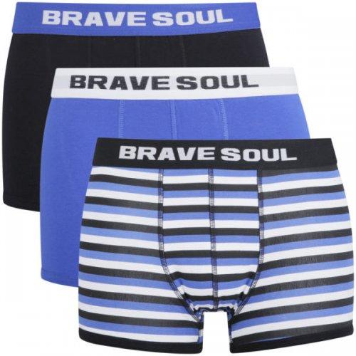 Brave Soul Men's 3-Pack Boxers X 2 (Thats 6 pairs) @ Zavvi for £2.99
