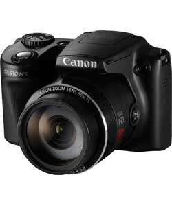 Canon PowerShot SX510 12MP Bridge Camera - Black £119.99 at Argos