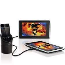 Philips Dual Monitor Car TV Set for Iphone / Ipod £41.99 @ Viking Black Friday Sale