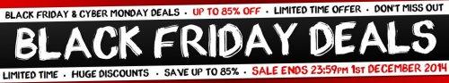 Black Friday deals at 24studio -  six foot Christmas tree £5