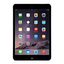 Apple iPad mini 2, 32GB, £249 @ John Lewis with 2 Year Warranty
