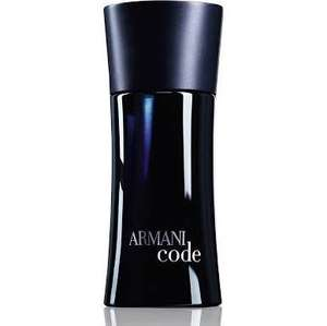 Giorgio Armani Code (for men) HUGE 200ml Eau de Toilette Spray £54 with code @Escentual Over £74 on Amazon
