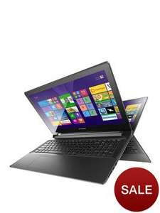 Lenovo Flex 2-15 Intel® Core™ i5 Processor, 8Gb RAM, 1Tb Hard Drive, Wi-Fi, 15.6 inch Touchscreen Convertible Laptop with 2Gb Dedicated Nvidia Graphics £415.83 Including the £83.17 Cashback from lenovo @ Very