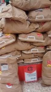 Morrisons Unwashed  Potatoes 12.5kg now £2.00 again.