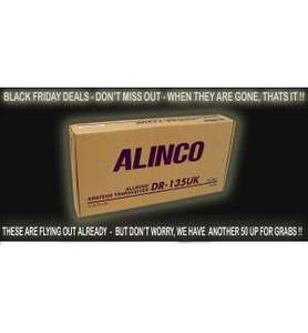 Alinco DR-135UK 10 Meter Radio Black Friday Deal £99.95 @ Nevada Radio