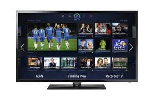 Samsung UE40F5300 40 Inch Smart TV WiFi Ready Full HD 1080p LED Television With Freeview HD - £279 @ Tesco Direct