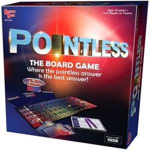 Pointless board game £9.99 on Amazon - Cheapest for a year