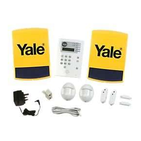 Yale HSA6400 Wireless alarm 4 room kit plus free additional key fob from Screwfix, previously £159+ - £129.99