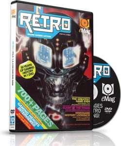 Retro DVD Emag (retro video games) - Imagine Shop - £3.84 delivered using code