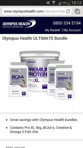 protein black friday @ Olympus Health