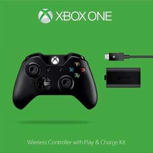 Official Xbox One Wireless Controller With Play and Charge Kit (Xbox One) Amazon NOT black Friday deal £42.85