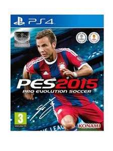 Pro Evolution Soccer 15 PS4/Xbox One £28 @ Very