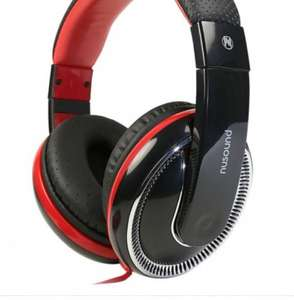 Nusound DJ Pro Over ear Headphone for £5.95 plus £3.99 or free C&C to store @ Choicediscount