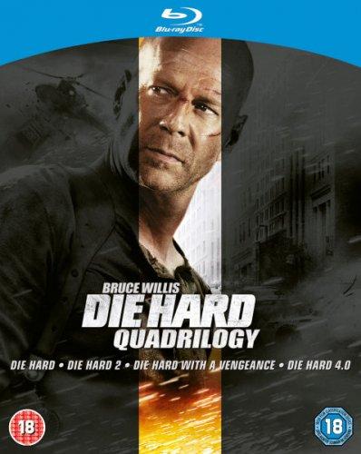 Die hard quadrilogy BLU-RAY boxset £7.64 at wowhd