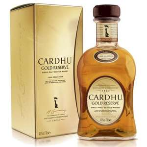 Cardhu gold reserve whisky £30 @ Tesco