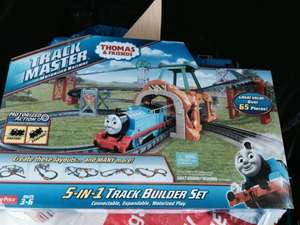 Thomas 5 in 1 trackmaster set £22.00 @ ASDA Black Friday