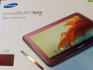 Samsung Galaxy Tab 10.1 Garnet Red ASDA
