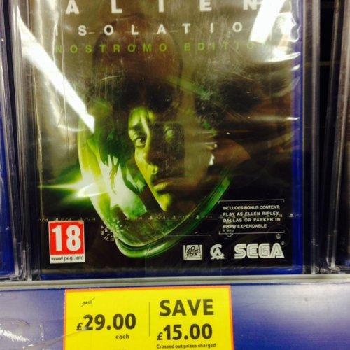 Alien Isolation PS4 £29 @ tesco