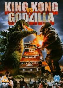 King Kong Vs Godzilla DVD 1962 - £3 Amazon (Free delivery £10 spend / Prime)