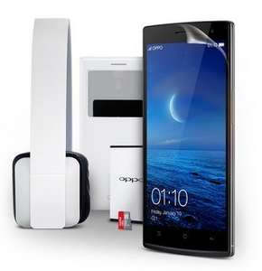 Oppo Find 7 or 7a + 5 free accesories and €80 voucher Cyber monday deal