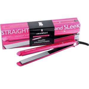 Lee Stafford Straight & Sleek Straighteners with Extra Long Plates £9.99 @ Argos