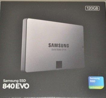 Samsung 120GB SSD 840 EVO £29.97. instore Currys