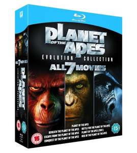 Planet Of The Apes: Evolution Collection (Blu-Ray) / Prometheus to Alien: The Evolution Boxset (Blu Ray) £14.99 Each Delivered @ TheEntertainmentStore Via eBay (Ice Age 1-4: Mammoth Collection Blu Ray £11.99)