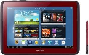Samsung Galaxy Note 10.1 Garnet Red GT-N8010 android tablet £169 @ Asda instore