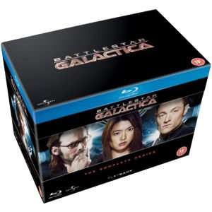 Battlestar Galactica - The Complete Series Blu-ray £24.29 with code @ Zavvi