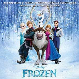Frozen  cd sound track  + instant mp3 album Amazon  (free delivery £10 spend/prime)
