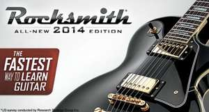 Rocksmith 2014 for Mac £8.73 @ macgamestore