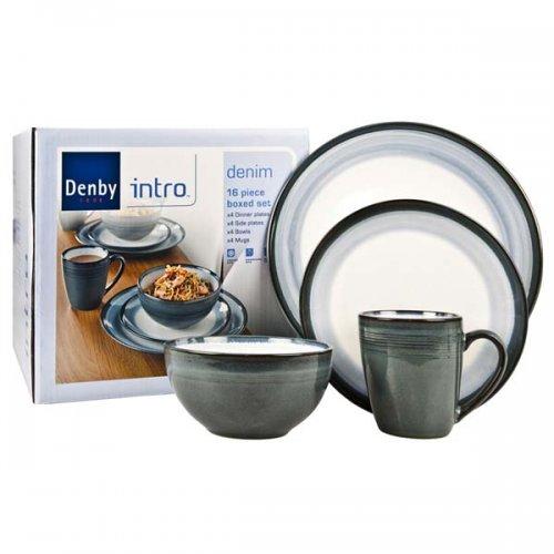 Denby Intro 16 piece dinnerset £29.74, Argos