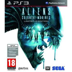 Aliens: Colonial Marines (Limited Edition) (PS3) £2.25 + Free p&p @ Tesco Direct