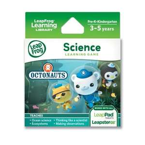 LeapFrog Science Learning Game: Octonauts (Leappad) £9.99 @ Amazon