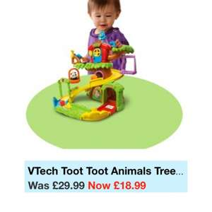 V-tech toot toot animal tree house @ Smyths £18.99 instore