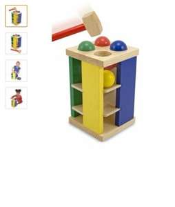 Melissa and Doug pound and roll tower £4.96 @ Amazon   (free delivery £10 spend/prime)