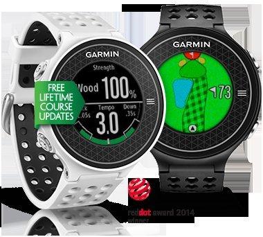 Garmin Approach S6 GPS Golf Watch Black or White and Free Garmin Vivofit £299.99 @ Direct Golf