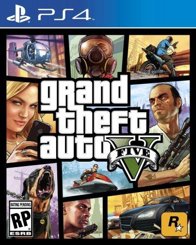 Grand theft auto 5 ps4  £39.98 Amazon