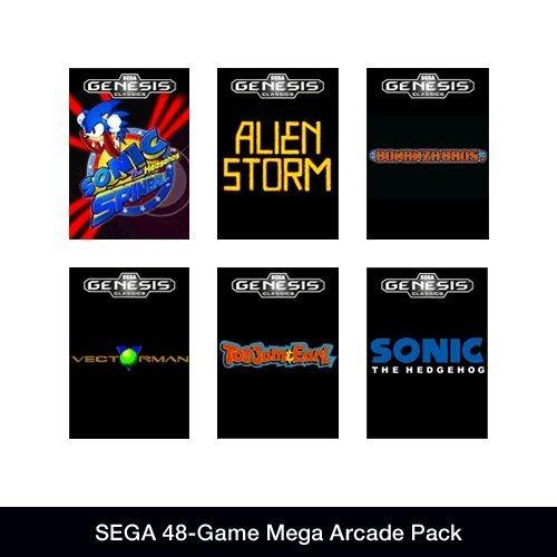 Sega 48 Game Megapack (Steam) £3.16 @ Amazon.com