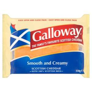 Free Galloway 350G Cheese  Worth £3.50 with the sun £0.80