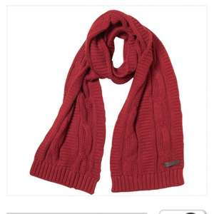 Ted Baker Red Cable Knit Scarf £9.99 plus postage £3.99 (free delivery over £30 with code)