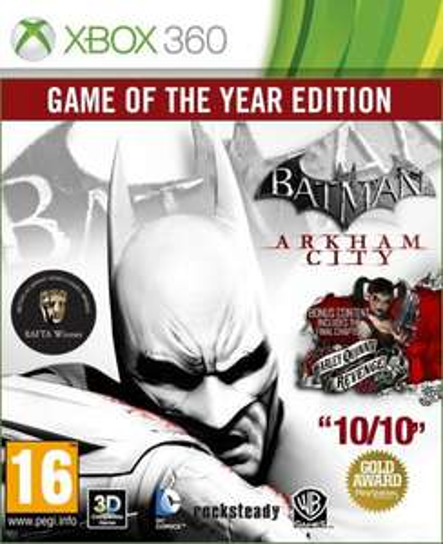 Batman Arkham City GOTY Xbox 360 - £5.50 @ Amazon