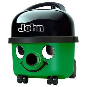 Numatic John Vacuum Cleaner, Air turbo brush, 2 year Guarante, Free Ddelivery, John Lewis